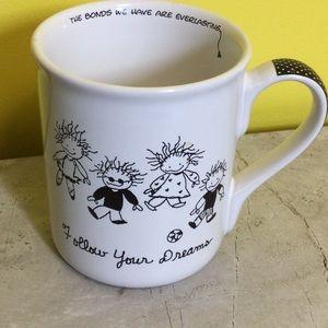 GRAD gift - Children of Light Follow Dreams mug